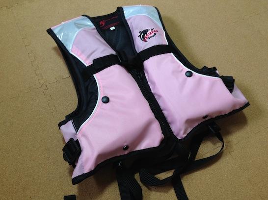 Yahooショッピングで選んだお手頃価格の子供用ライフジャケット