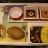 関空・ホノルル便のチャイルドミールと俺の機内食
