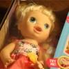 Baby Aliveの人形をWalmartで購入